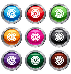 Small objective set 9 collection vector