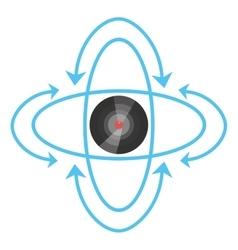 Vr circular camera panorama vector