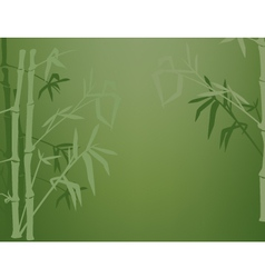 bamboo shadows vector image vector image