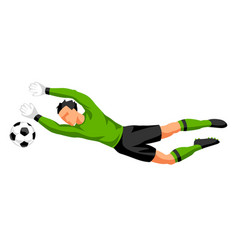 soccer player with ball sports football vector image vector image