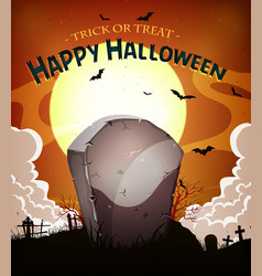 Halloween holidays background vector