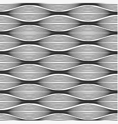 waves abstract seamless pattern vector image vector image