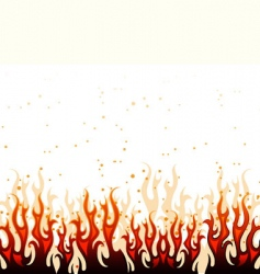 fire back vector image