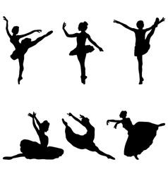 Ballerinas vector