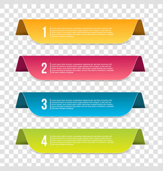 creative of infographics vector image