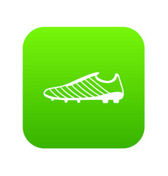 Football boots icon simple black style vector