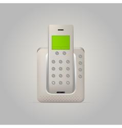 Home radiotelephone vector