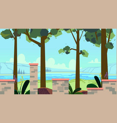 seamless background for games mobile applications vector image