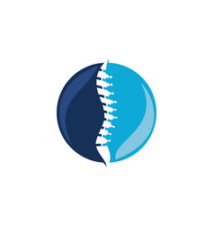 spinal injury icon vector image