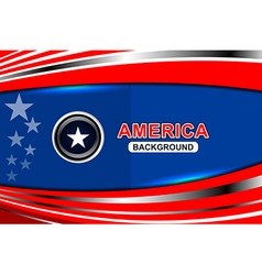 Usa flag modern backgrounds vector