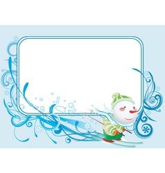 Winter banner vector