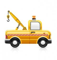 wrecker car service vector image vector image