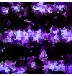 Abstract triangle violet texture background vector image vector image