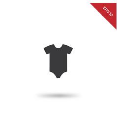 bodysuit icon vector image