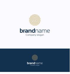brand name logo vector image