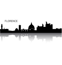 cityscape of florence vector image