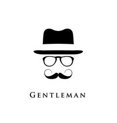 Gentleman logo vector