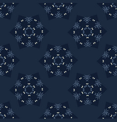 Glowing stars texture seamless pattern vector