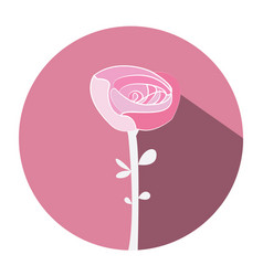 isolated wedding flower vector image