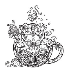 Kawaii Coloring Page Vector Images Over 760