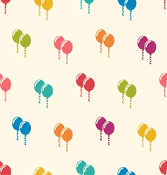Seamless Pattern Multicolored Balloons for Happy vector