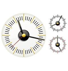 set of clocks vector image