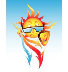 Solar Activity vector image vector image