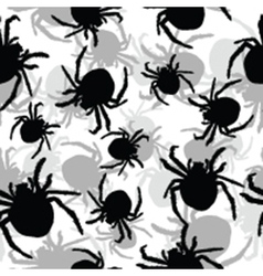 Spider background vector