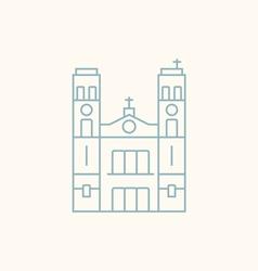 St John s Basilica vector