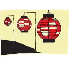 Japanese Lantern Vector Images Over 910