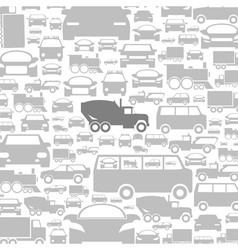 Car a background vector image vector image