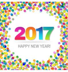 2017 new year vector