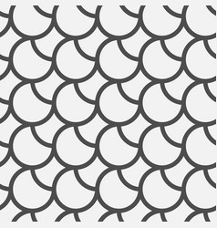black circles pattern vector image