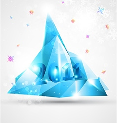 Ice Christmas Design vector