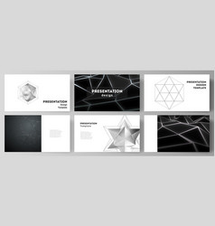 minimalistic abstract layout vector image