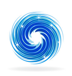 shiny spiral wave vector image