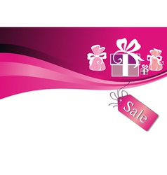 holiday gift boxes vector image