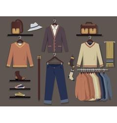 Men fashion vector image vector image