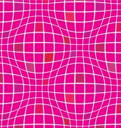 warp squares fuchsia vector image vector image