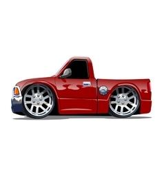 Cartoon pickup stock vector image