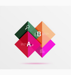 square banner vector image