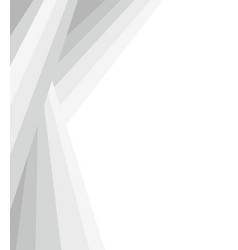 Grey white abstract geometric frame vector