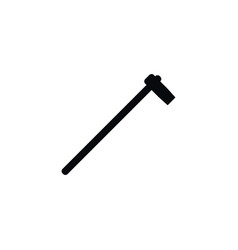 Isolated hatchet icon tomahawk element can vector