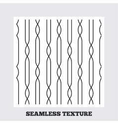 Lines geometric seamless pattern vector