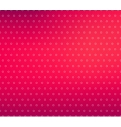 Pink Blurred Background With Halftone Effect vector image