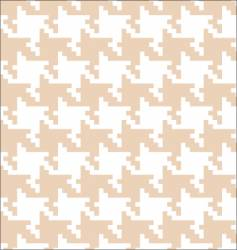pixel tooth pattern vector image