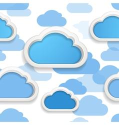 Cloudscape vector image