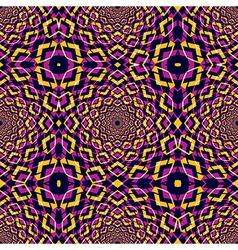 Kaleidoscope seamless pattern vector image