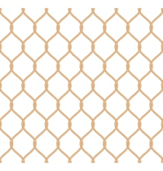 Rope marine net pattern vector image vector image