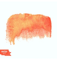 Colored watercolor blotch Watercolor element vector image